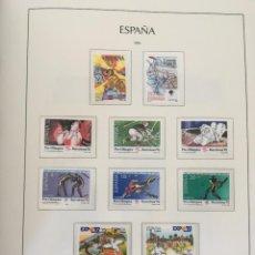 Sellos: ESPAÑA, 1990 - 2000 COLECCIÓN COMPLETA DE SELLOS Y HOJAS BLOQUE NUEVOS SIN FIJASELLOS.. Lote 222108698
