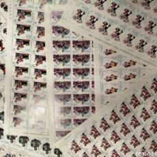Sellos: LOTE DE PLIEGOS COMICS ESPAÑA. Lote 222147792