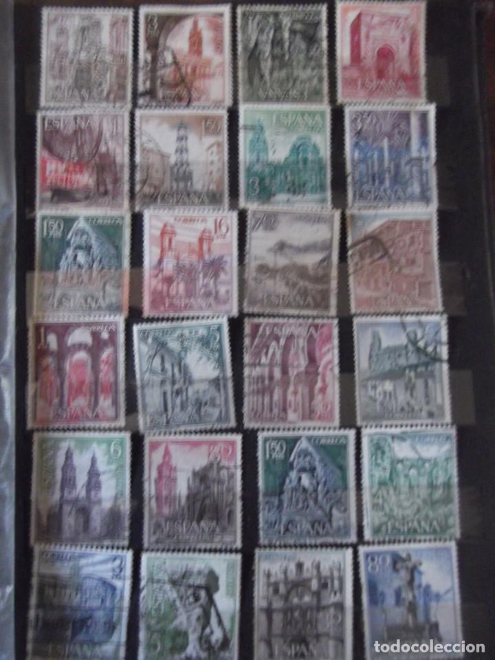 Sellos: Buen lote de Sellos 1º y 2º centenario, albúm con sellos , 2 pliegos , bolsa con mas de 800 sellos - Foto 11 - 222791843