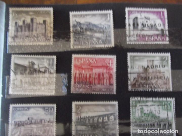 Sellos: Buen lote de Sellos 1º y 2º centenario, albúm con sellos , 2 pliegos , bolsa con mas de 800 sellos - Foto 13 - 222791843