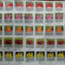 Francobolli: LOTE FLORA ALEMANIA SET DE 40V.. Lote 223158088