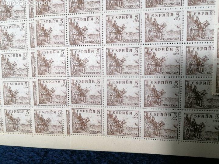 Sellos: España 990 sellos Cid Campeador Edifil 1044 nuevo *** año 1944 - Foto 4 - 277711833