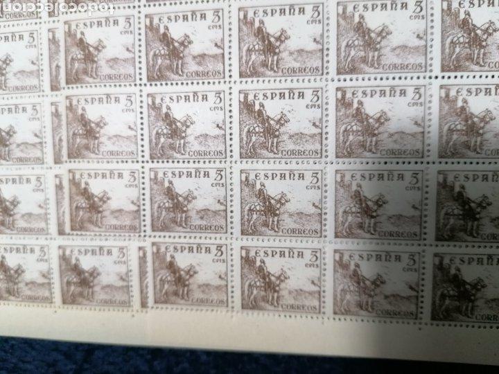 Sellos: España 990 sellos Cid Campeador Edifil 1044 nuevo *** año 1944 - Foto 3 - 277711833