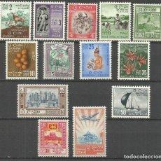 Sellos: CEILAN 1958 CONJUNTO DE SELLOS NUEVOS CON FIJASELLOS. Lote 225259305