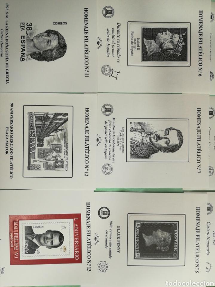 Sellos: Lote de 14 Homenajes Filatélicos Nuevos - Foto 4 - 261151250