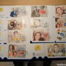 Selos: COLECCIÓN 11 CARNETS ESPAÑA 2000 MATASELLADOS. Lote 261292945
