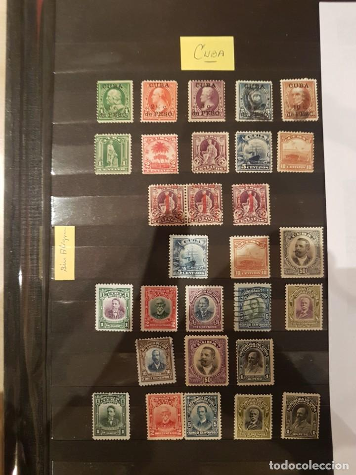 COLECCION VARIADA DE SELLOS FILATELIA DE CUBA (Sellos - Colecciones y Lotes de Conjunto)