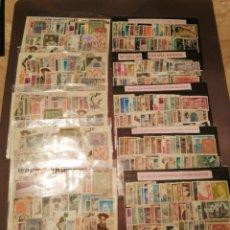 Sellos: LOTE DE 10 PAQUETES DE 50 SELLOS DIFERENTES NUEVOS. Lote 234117630
