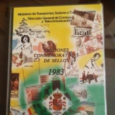 Francobolli: ALBUM OFICIAL CORREOS SELLOS ESPAÑA 1983. Lote 259266710