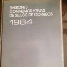 Francobolli: ALBUM OFICIAL CORREOS SELLOS ESPAÑA 1984. Lote 259266660