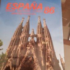 Francobolli: ALBUM OFICIAL CORREOS SELLOS ESPAÑA 1986. Lote 241064000