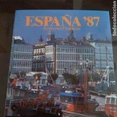Francobolli: ALBUM OFICIAL CORREOS SELLOS ESPAÑA 1987. Lote 241064835