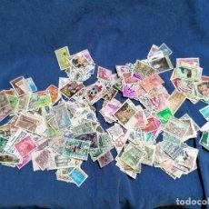 Selos: ESPAÑA CAJA LOTE SELLOS 500 SELLOS DIFERENTES USADOS Y ALGO EN NUEVO. Lote 241073545