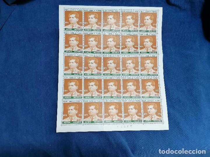 Sellos: Album hojas sellos Resto Coleccion Lote 4200 sellos mundiales en Hojas Pliego Mundial - Foto 6 - 241085420