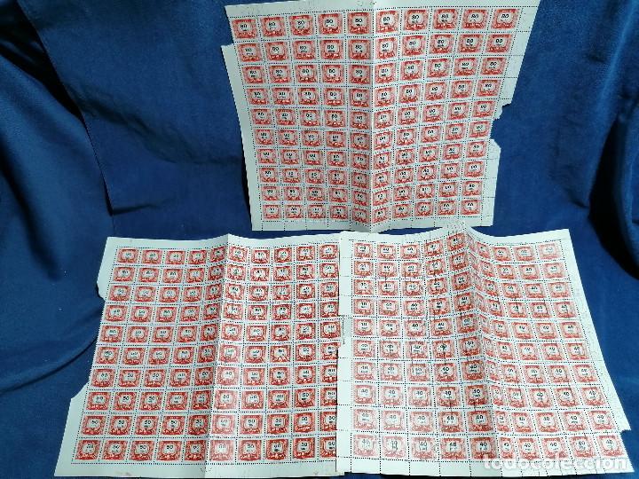 Sellos: Album hojas sellos Resto Coleccion Lote 4200 sellos mundiales en Hojas Pliego Mundial - Foto 12 - 241085420