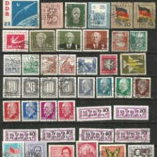 Francobolli: ALEMANIA DDR CONJUNTO DE SELLOS USADOS. Lote 241199870
