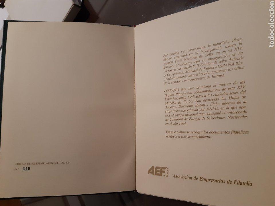 Sellos: Álbum Oficial XIV Feria Nacional del Sello año 1981 edición 500 ejemplares este nº 210 - Foto 2 - 243685260