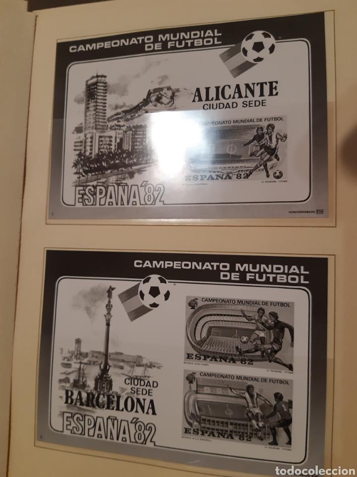 Sellos: Álbum Oficial XIV Feria Nacional del Sello año 1981 edición 500 ejemplares este nº 210 - Foto 4 - 243685260
