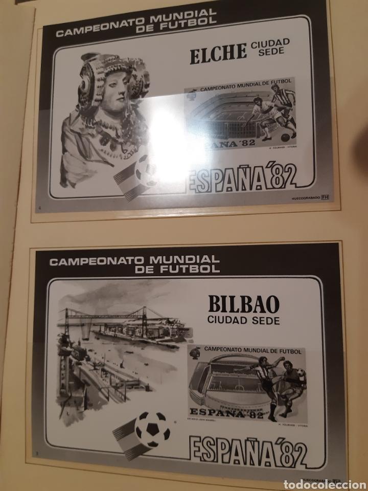 Sellos: Álbum Oficial XIV Feria Nacional del Sello año 1981 edición 500 ejemplares este nº 210 - Foto 5 - 243685260