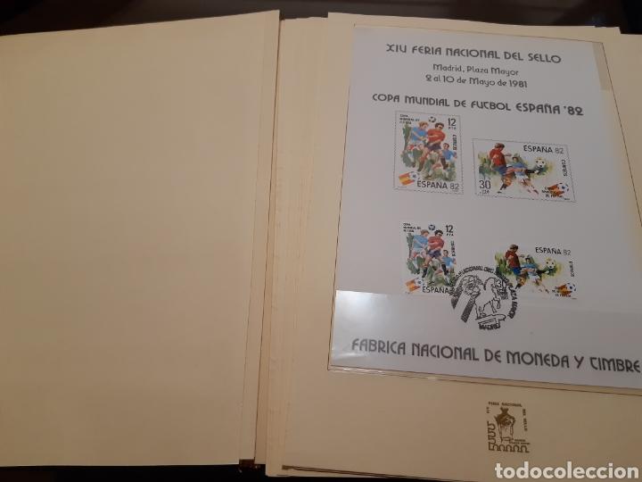 Sellos: Álbum Oficial XIV Feria Nacional del Sello año 1981 edición 500 ejemplares este nº 210 - Foto 8 - 243685260