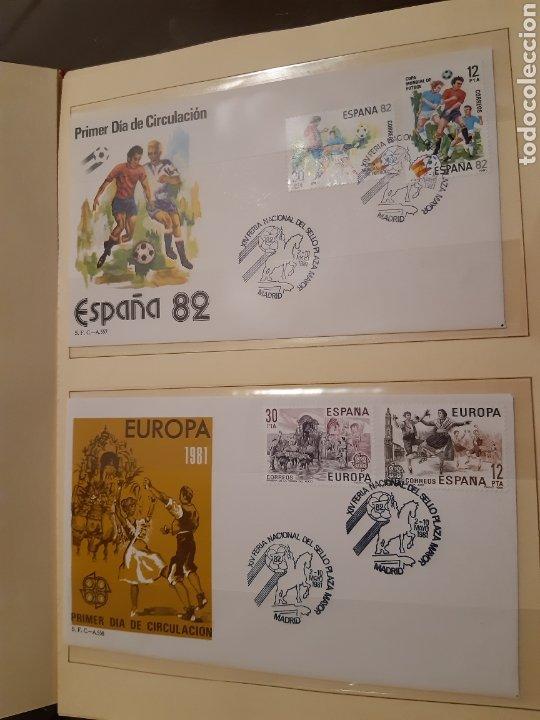 Sellos: Álbum Oficial XIV Feria Nacional del Sello año 1981 edición 500 ejemplares este nº 210 - Foto 9 - 243685260