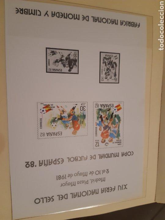 Sellos: Álbum Oficial XIV Feria Nacional del Sello año 1981 edición 500 ejemplares este nº 210 - Foto 10 - 243685260