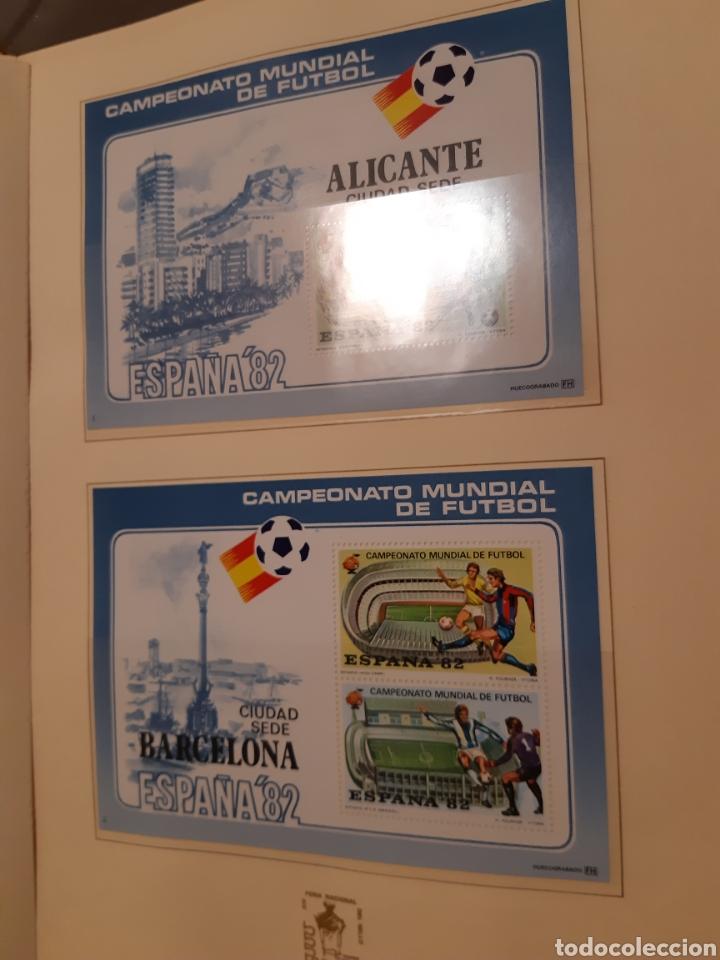 Sellos: Álbum Oficial XIV Feria Nacional del Sello año 1981 edición 500 ejemplares este nº 210 - Foto 11 - 243685260