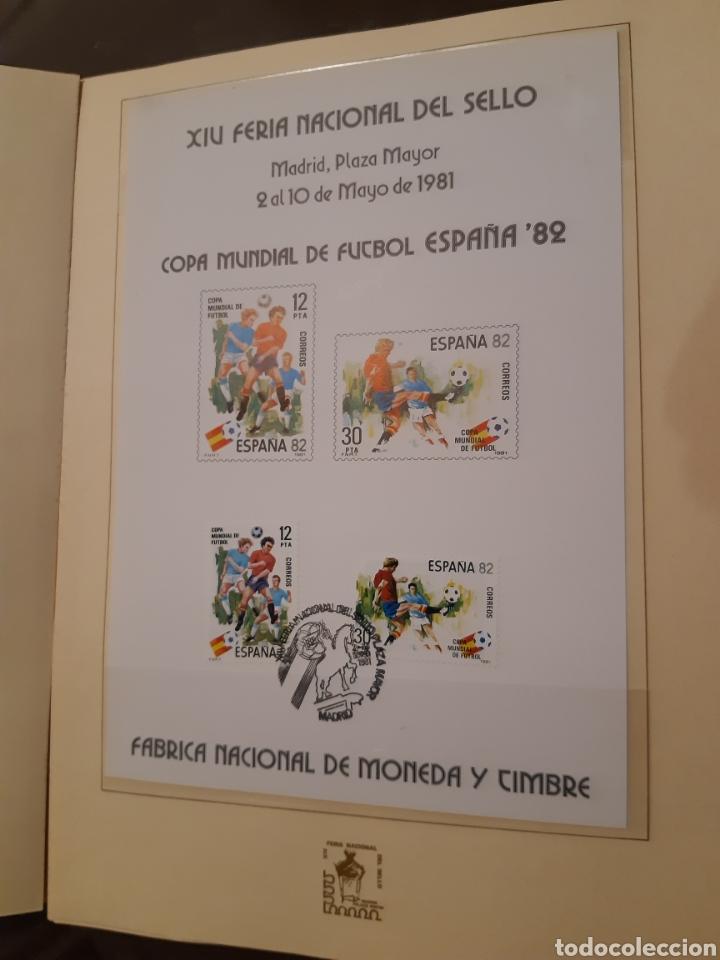 Sellos: Álbum Oficial XIV Feria Nacional del Sello año 1981 edición 500 ejemplares este nº 210 - Foto 12 - 243685260