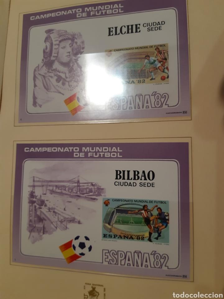 Sellos: Álbum Oficial XIV Feria Nacional del Sello año 1981 edición 500 ejemplares este nº 210 - Foto 13 - 243685260