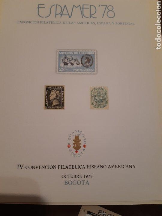 Sellos: 21 HOJAS RECUERDO EXPOSICIONES FILATÉLICAS ESPAÑA 75 ETC....VER FOTOS - Foto 5 - 243686705