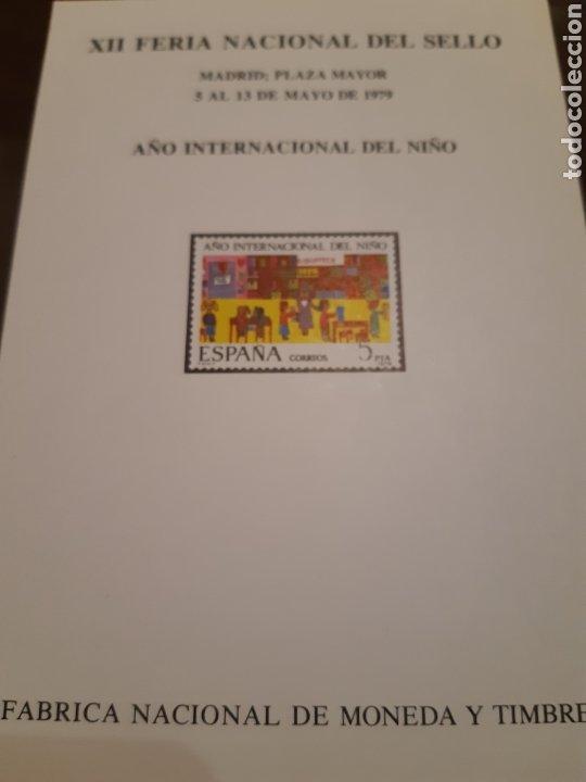 Sellos: 21 HOJAS RECUERDO EXPOSICIONES FILATÉLICAS ESPAÑA 75 ETC....VER FOTOS - Foto 8 - 243686705