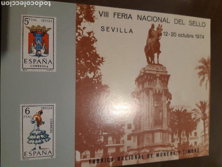 Sellos: 21 HOJAS RECUERDO EXPOSICIONES FILATÉLICAS ESPAÑA 75 ETC....VER FOTOS - Foto 9 - 243686705