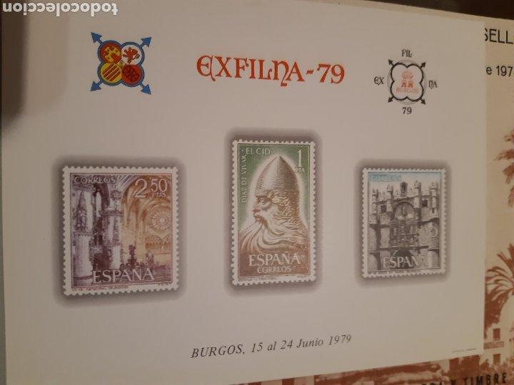 Sellos: 21 HOJAS RECUERDO EXPOSICIONES FILATÉLICAS ESPAÑA 75 ETC....VER FOTOS - Foto 11 - 243686705