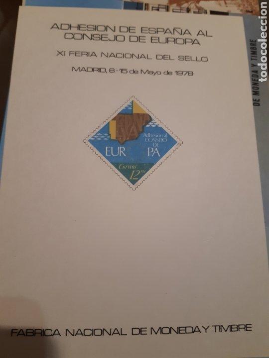 Sellos: 21 HOJAS RECUERDO EXPOSICIONES FILATÉLICAS ESPAÑA 75 ETC....VER FOTOS - Foto 13 - 243686705