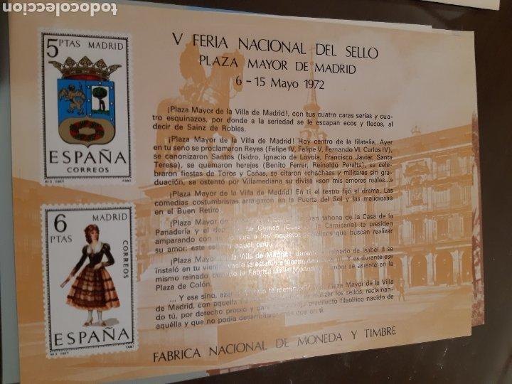 Sellos: 21 HOJAS RECUERDO EXPOSICIONES FILATÉLICAS ESPAÑA 75 ETC....VER FOTOS - Foto 14 - 243686705