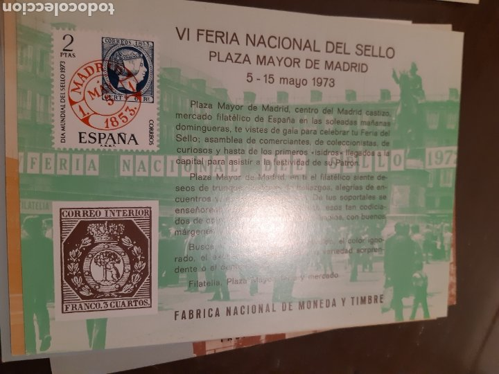 Sellos: 21 HOJAS RECUERDO EXPOSICIONES FILATÉLICAS ESPAÑA 75 ETC....VER FOTOS - Foto 16 - 243686705
