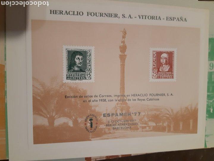 Sellos: 21 HOJAS RECUERDO EXPOSICIONES FILATÉLICAS ESPAÑA 75 ETC....VER FOTOS - Foto 18 - 243686705