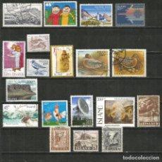 Selos: ISLANDIA CONJUNTO DE SELLOS USADOS DIFERENTES. Lote 246779545
