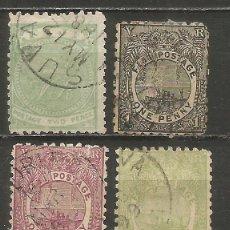 Francobolli: FIJI COLONIA BRITANICA 1878-1893 CONJUNTO DE SELLOS USADOS. Lote 247124420