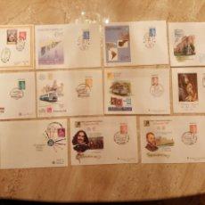Selos: LOTE DE 11 SOBRES ENTERO POSTALES MATASELLADOS. Lote 252160010