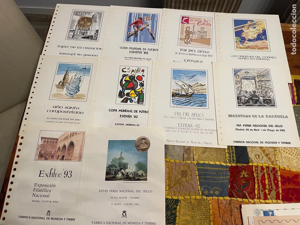 Sellos: Colección Documentos Filatélicos del 1 al 20 y varios de Anfil, Correos y repetidos - Foto 2 - 252212780