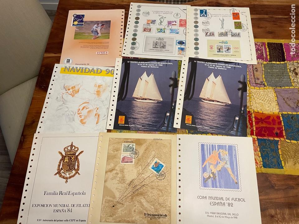 Sellos: Colección Documentos Filatélicos del 1 al 20 y varios de Anfil, Correos y repetidos - Foto 3 - 252212780