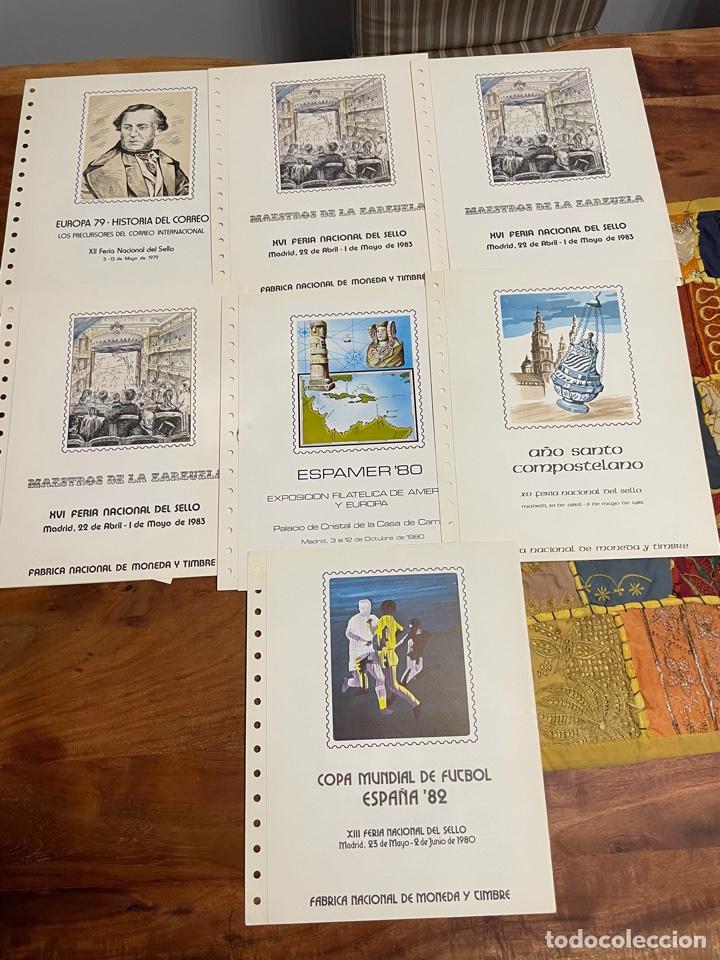 Sellos: Colección Documentos Filatélicos del 1 al 20 y varios de Anfil, Correos y repetidos - Foto 4 - 252212780