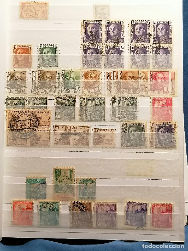 Sellos: España Lote Sellos Todas Epocas Resto coleccion Clasificador de lujo usado nuevo - Foto 8 - 253556140