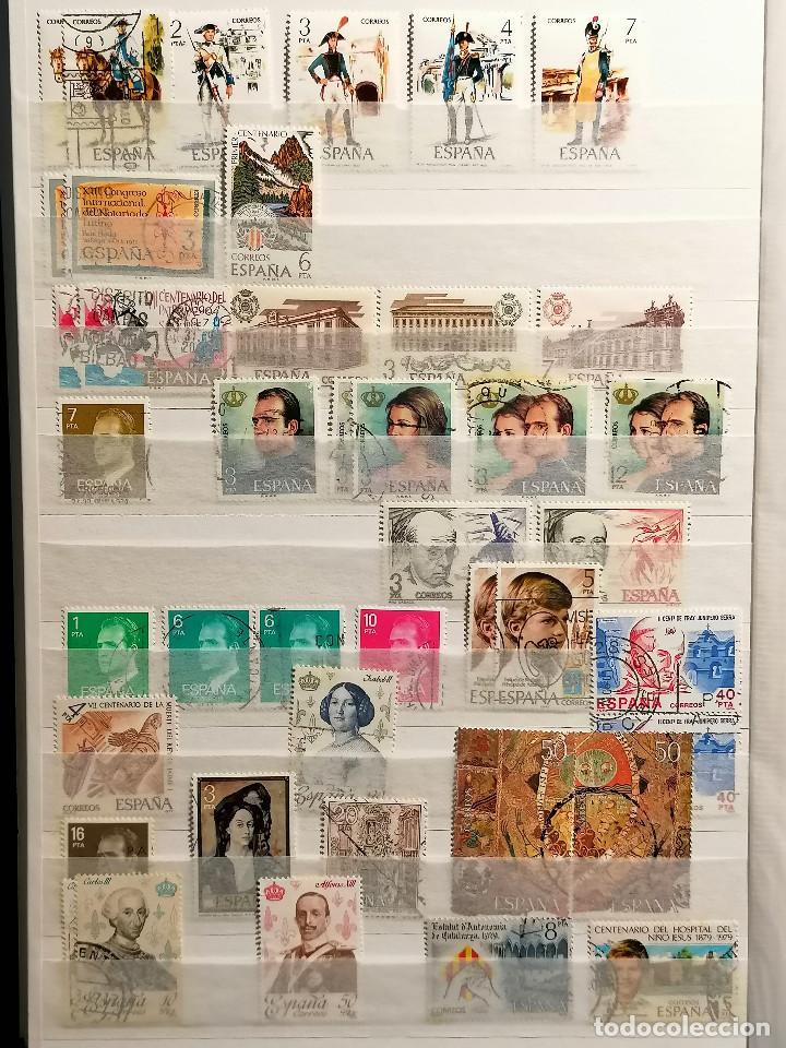 Sellos: España Lote Sellos Todas Epocas Resto coleccion Clasificador de lujo usado nuevo - Foto 19 - 253556140