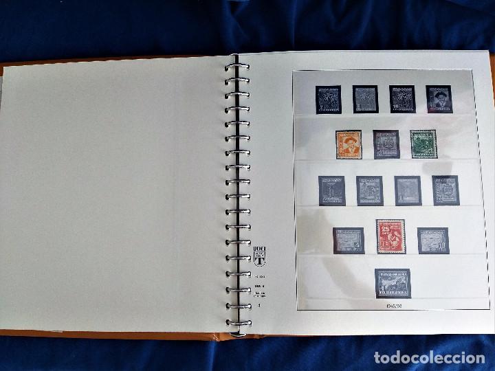 Sellos: Album Lujo Lidner ANDORRA España año 1948-1994 ANDORRA FRANCESA Año 1976-1989 Resto Coleccion Nuevo - Foto 5 - 254737840