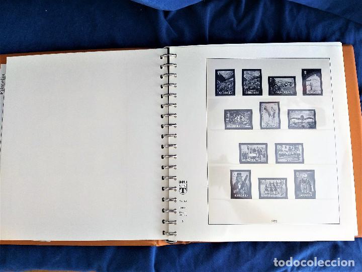 Sellos: Album Lujo Lidner ANDORRA España año 1948-1994 ANDORRA FRANCESA Año 1976-1989 Resto Coleccion Nuevo - Foto 7 - 254737840
