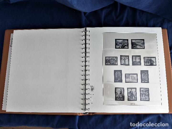 Sellos: Album Lujo Lidner ANDORRA España año 1948-1994 ANDORRA FRANCESA Año 1976-1989 Resto Coleccion Nuevo - Foto 10 - 254737840