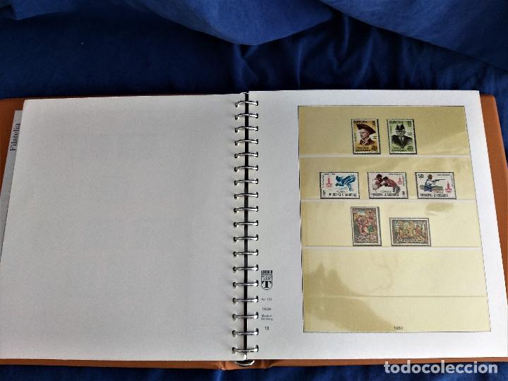 Sellos: Album Lujo Lidner ANDORRA España año 1948-1994 ANDORRA FRANCESA Año 1976-1989 Resto Coleccion Nuevo - Foto 13 - 254737840