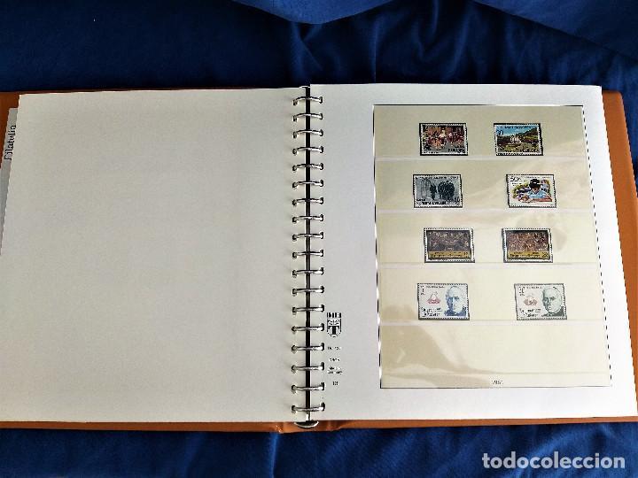 Sellos: Album Lujo Lidner ANDORRA España año 1948-1994 ANDORRA FRANCESA Año 1976-1989 Resto Coleccion Nuevo - Foto 14 - 254737840